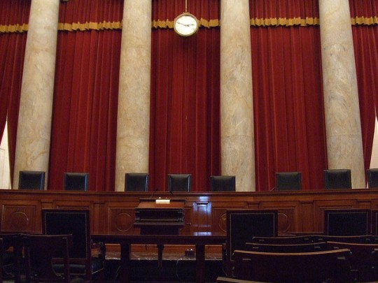 United States Supreme Court Courtroom by John Marino