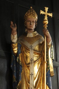 Statue of St. Cyprian by Lawrence OP courtesy of Flickr