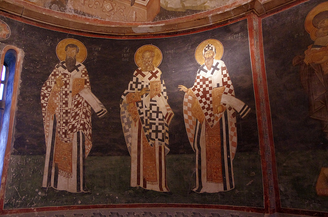 The Cappadocian Fathers courtesy of Badly Drawn Dad and Flickr